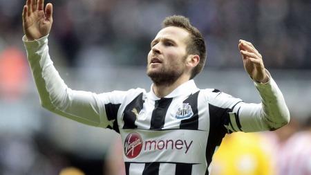 POPULÆR: Newcastles   Yohan Cabaye er ønsket av en rekke klubber.