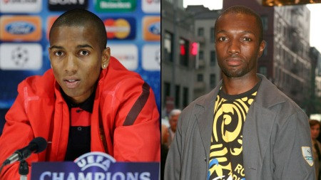 Ashley Young og Jamie Hector (Marlo Stanfield i the Wire)