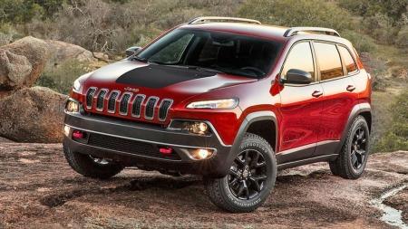 00 Jeep Cherokee rød