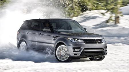 ... og her er arvtageren. Andre generasjon Range Rover Sport har både vokst - og blitt lettere. Den skal være her i tredje kvartal 2013.