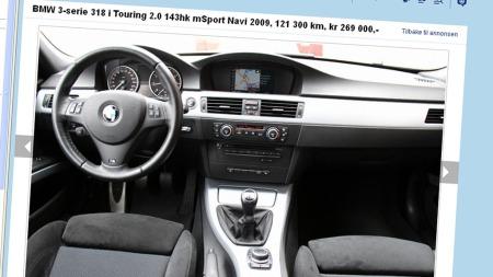Sportsratt, sportsseter, navigasjon, stort klimaanlegg og det nye iDrive-systemet er blant det viktige utstyret på denne bilen.