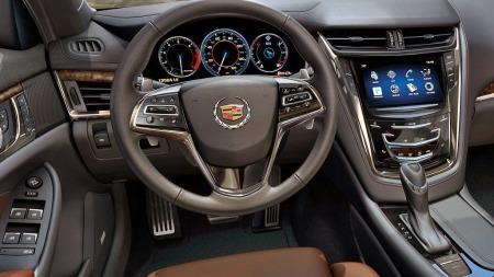 Den store touch-skjermen i midtkonsollen er hjemmebanen til Cadillacs førergrensesnitt