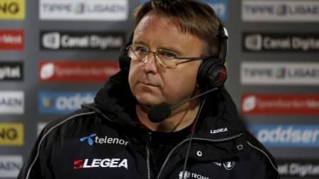 FERDIG I TIL: Agnar Christensen er ferdig i TIL ifølge itromso.no.   (Foto: Snæland, Alf Vidar/NTB scanpix)
