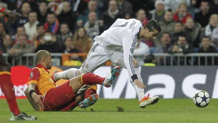 I TOPPFORM: Cristiano Ronaldo (Foto: Andres Kudacki/Ap)
