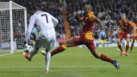 SCORET IGJEN: Cristiano Ronaldo. (Foto: CURTO DE LA TORRE/Afp)