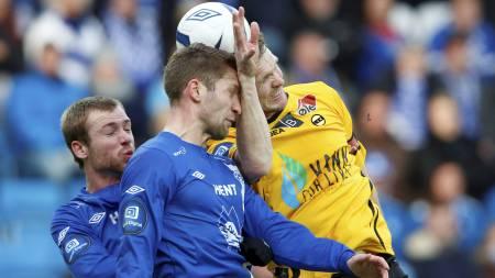 SCORET: Frode Kippe scoret mot Molde. (Foto: Svein Ove Ekornesvåg/NTB scanpix)