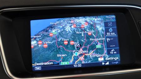 Nye Q5 kan bestilles med Google maps.