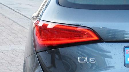 Audi Q5 detalj baklykt
