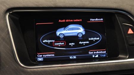 Audi Q5 detalj drive select