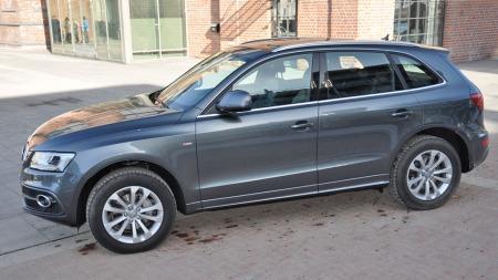 Audi Q5 rett fra siden