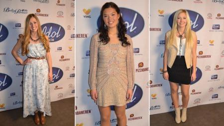 Idol-jentene (Foto: TV 2)
