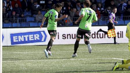 I STORFORM: Mohamed Elyounoussi har storspilt for Sarpsborg i sesongstarten. (Foto: Bendiksby, Terje/NTB scanpix)