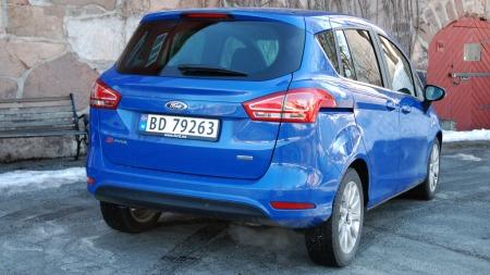 B-Max er basert på småbilen Fiesta - og er en kompakt liten flerbruksbil.