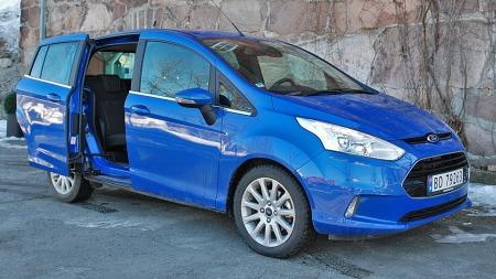 Ford B-Max er en av modellene som nå får redusert pris.