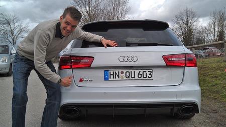 Audi har laget en helt ny superstasjonsvogn - og Brooms utsendte lar seg imponere over RS6.