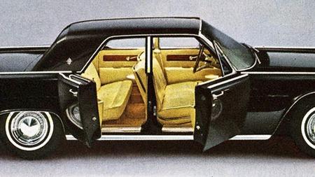 Ca. 1963 Lincoln Continental.