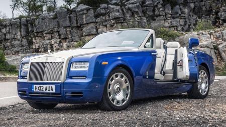 2013 Rolls-Royce Phantom Drophead Coupé.