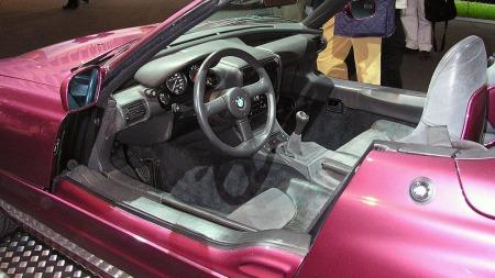BMW Z1 sine motoriserte, senkbare dører var omdiskuterte. (Foto: Norbert Schnitzler/Wikipedia Commons)