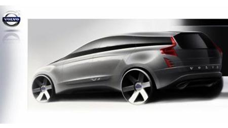 Ingen vet riktig hvordan den nye V90 blir seende ut. Volvo holder kortene tett til brystet.