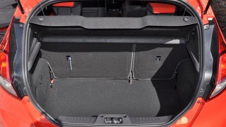 Ford Fiesta ST bagasjerom