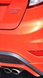 Ford Fiesta ST detalj hekken
