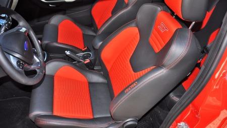 Ford Fiesta ST interiør setene