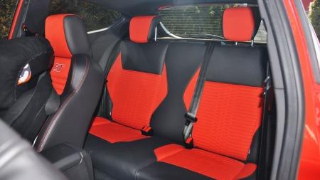 Ford Fiesta ST interiør baksetene
