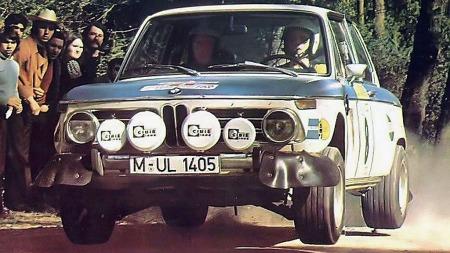 BMW 2002 hadde også stor suksess innen motorsport