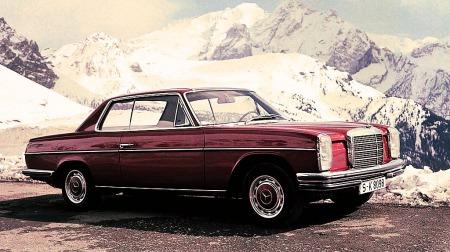 Dette var første coupemodell av det som etter hvert ble E-klasse. Ganske lekker?