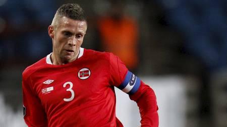 KAPTEIN: Kjetil Wæhler var kaptein da Norge møtte Kypros i EM-kvalifiseringen. (Foto: Aas, Erlend/NTB scanpix)