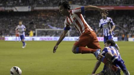 VIDUNDERBARN: Oliver Torres er «the next big thing» i spansk fotball. (Foto: MIGUEL RIOPA/Afp)