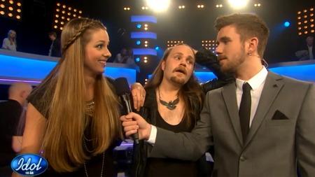 Siri og Eirik i Idol (Foto: TV 2)