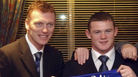 VIL OVERTALE ROONEY: David Moyes vil overtale Wayne Rooney til å bli værende i Manchester United. (Foto: Neal Simpson/Pa Photos)