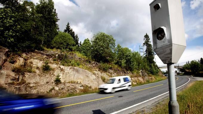 At årsaken kan være at flere har GPS som varsler om boksene står, synes ikke politiet er problematisk. Foto: Lien, Kyrre/SCANPIX