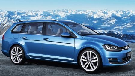 VW Golf stv.