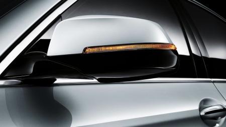 00_BMW 5-serie blinklys i speilet