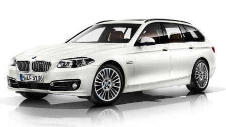 00_BMW 5-serie hvit stasjonsvogn