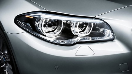 00_BMW 5-serie nye lykter foran