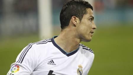 TIL PSG? Franske og spanske aviser spekulerer heftig i at Cristiano Ronaldo kan være aktuell for PSG. (Foto: QUIQUE GARCIA/Afp)