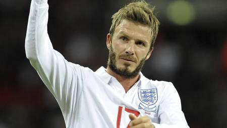 LEGGER OPP: David Beckham. (Foto: Rebecca Naden/Pa Photos)