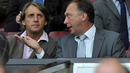 TRAKK SEG: David Platt trakk seg som assistenttrener etter at Roberto Mancini fikk sparken. (Foto: Martin Rickett/Pa Photos)