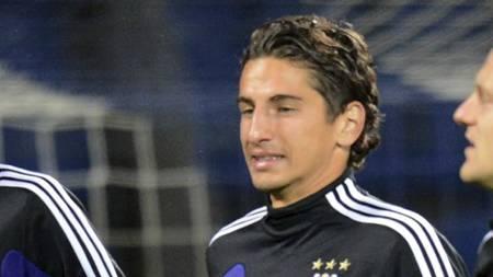 TIL FIORENTINA: Aleksander Jakovenko er mannen som skal erstatte   Stevan Jovetic i Fiorentina. (Foto: KIRILL KUDRYAVTSEV/Afp)