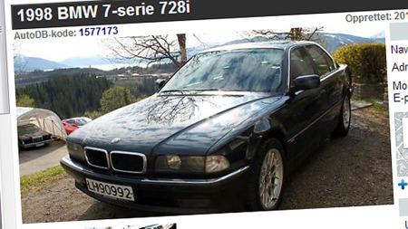 BMW-728i (Foto: Faksimile fra autodb.no)