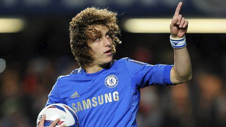 INGEN MOURINHO-FAVORITT:   Jose Mourinho ønsker visst å selge David Luiz dersom han blir Chelsea-manager.   (Foto: Dominic Lipinski/Pa Photos)
