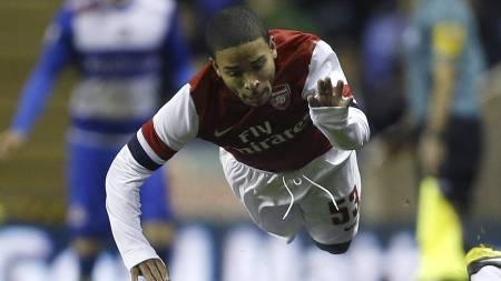 FRIGITT: Jernade Meade fikk ikke ny kontrakt med Arsenal. Men han kan ende i en ny Premier League-klubb. (Foto: Kirsty Wigglesworth/Ap)
