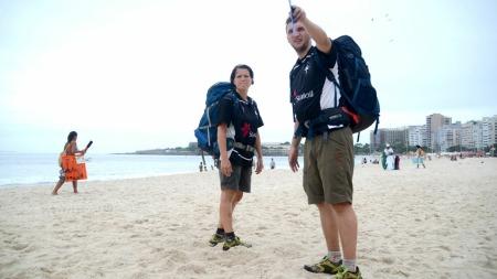 Solfrid og Sveinung i Amazing race i Rio (Foto: Sandra Mei Ling Noer/TV 2)