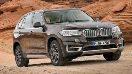 00 BMW X5 2014 brun