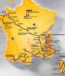 Slik blir Tour de France 2013.