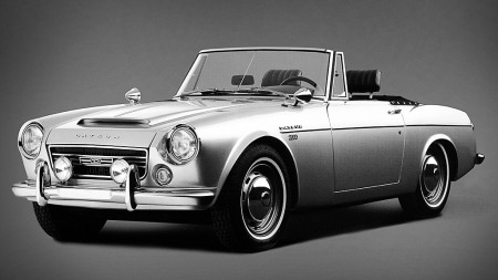 Originalen:  Datsun Fairlady er slett ikke dum den heller...