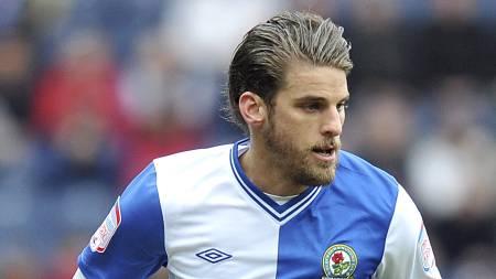 FORTSATT AKTIV: David Bentley spiller fortsatt fotball. Siste del av sesongen var han på utlån til Blackburn. (Foto: Dave Howarth/Pa Photos)